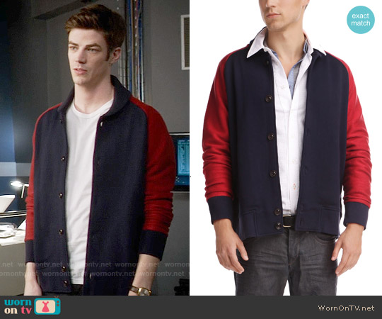 Boss Orange Weslow Jacket worn by Grant Gustin on The Flash