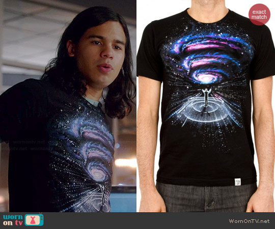Imaginary Foundation Conductor Tee worn by Carlos Valdes on The Flash