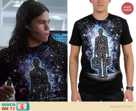 Imaginary Foundation Origins Tshirt worn by Carlos Valdes on The Flash