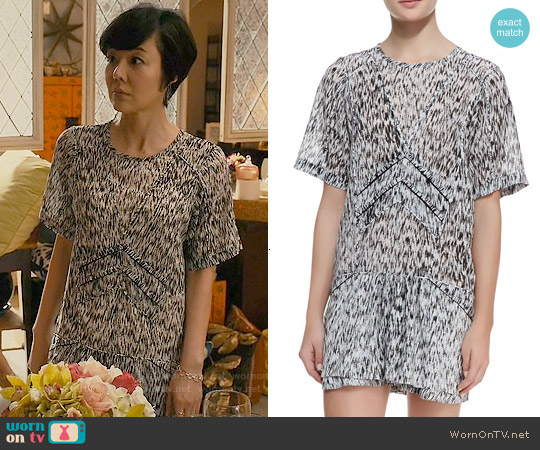 IRO Carline Dress worn by Yunjin Kim on Mistresses