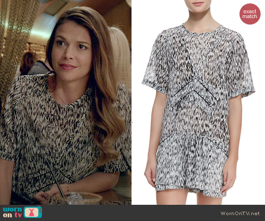 IRO Carline Shirt worn by Liza Miller on Younger