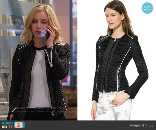 IRO Giana Jacket worn by Calista Flockhart on Supergirl