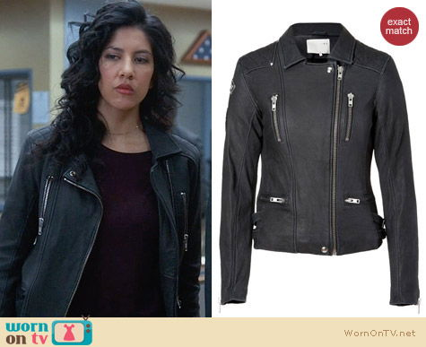 IRO Sofia Jacket worn by Rosa Diaz on Brooklyn 99