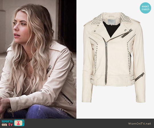 IRO Wanda Jacket worn by Ashley Benson on PLL