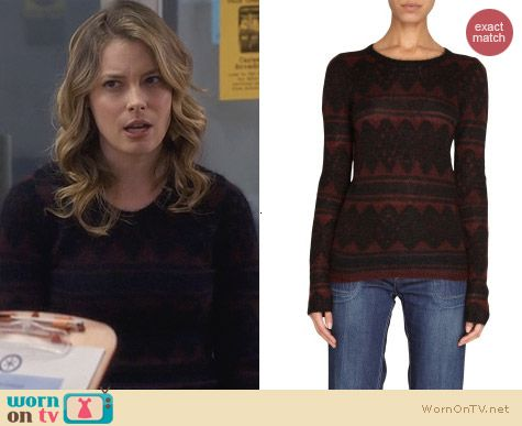 Isabel Marant Falk Sweater worn by Gillian Jacobs on Community
