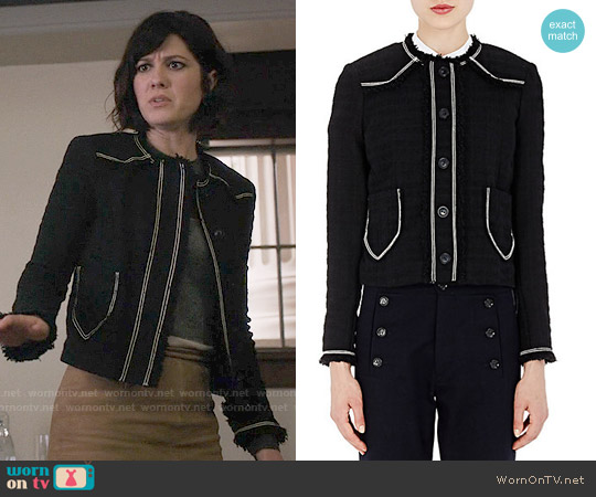 Isabel Marant Ferris Jacket worn by Mary Elizabeth Winstead on BrainDead