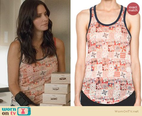 Isabel Marant Foxton Tank worn by Courtney Cox on Cougar Town