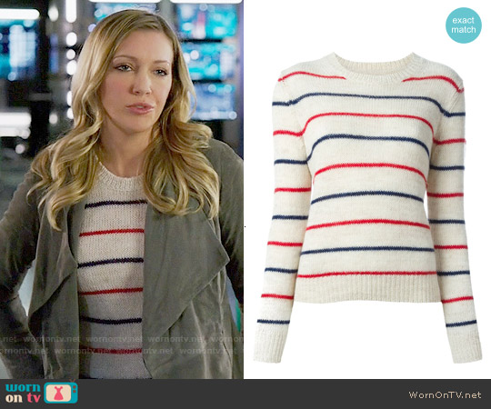 Isabel Marant Gaston Sweater worn by Katie Cassidy on Arrow