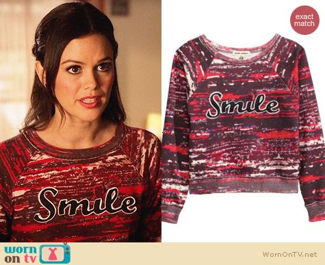 Isabel Marant for H&M Smile Sweater worn by Rachel Bilson on Hart of Dixie