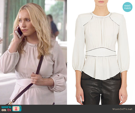 Isabel Marant Wiley Blouse worn by Hayden Panettiere on Nashville
