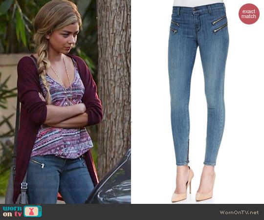 J Brand Cass Beatnick Jeans worn by Haley Dunphy on Modern Family