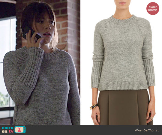 J Brand Helms Sweater worn by Chloe Bennett on Agents of SHIELD