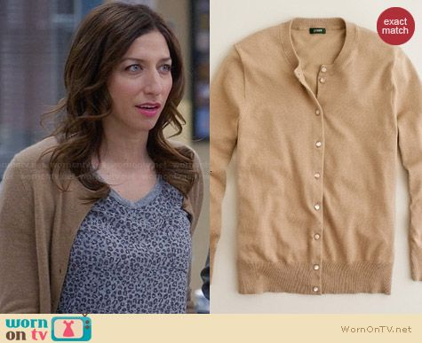 J. Crew Jackie Cardigan worn by Chelsea Peretti on Brooklyn99