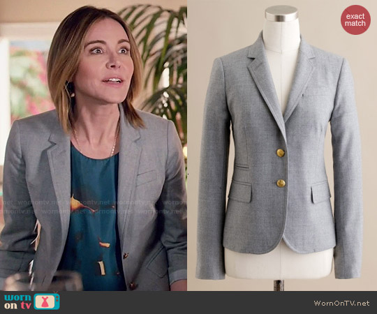 J. Crew Schoolboy Blazer worn by Ellie Torres on Cougar Town