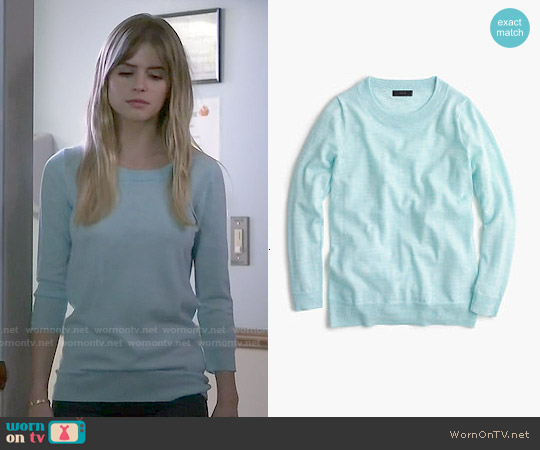 J. Crew Merino Wool Tippi Sweater worn by Carlson Young on Scream