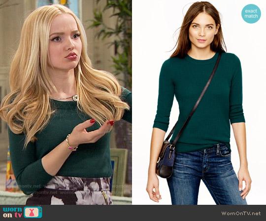 J. Crew Tippi Sweater in Green worn by Liv Rooney on Liv & Maddie