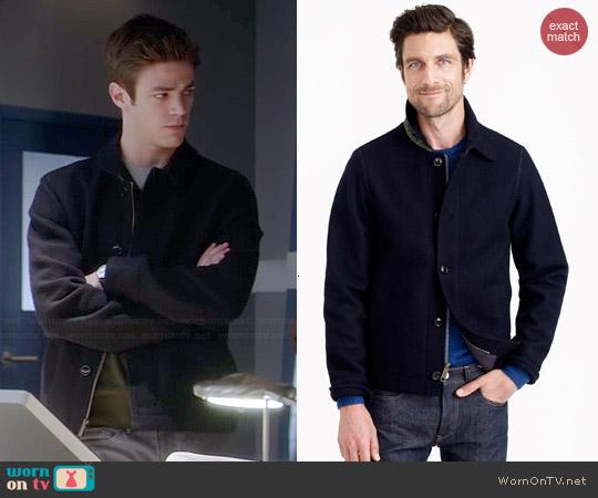 J. Crew Wallace & Barnes Wool Deck Jacket worn by Barry Allen on The Flash