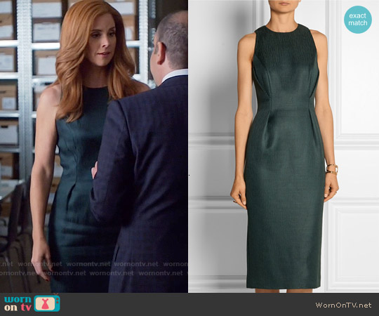 Jason Wu Wool and Silk-blend Dress worn by Sarah Rafferty on Suits