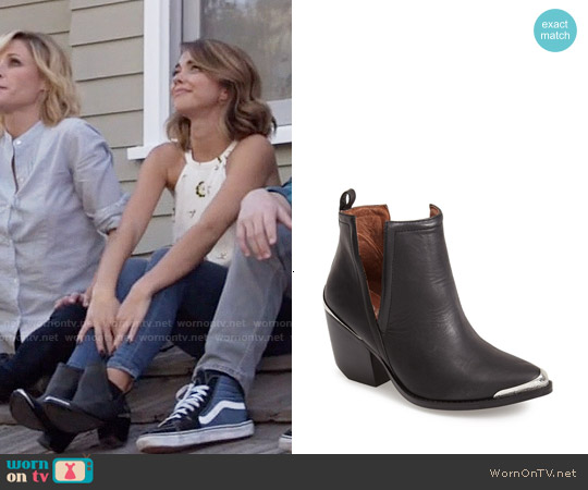 Jeffrey Campbell 'Cromwell' Cutout Western Boot worn by Haley Dunphy on Modern Family