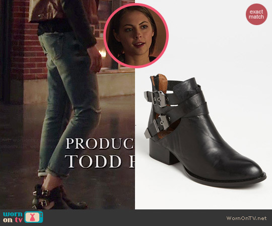 Jeffrey Campbell Everly Bootie worn by Willa Holland on Arrow