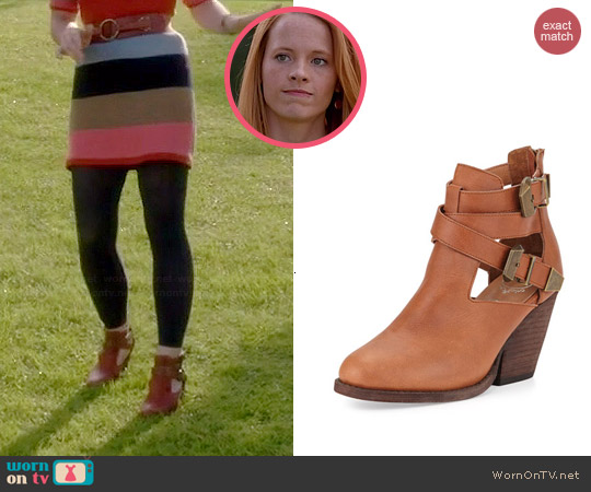 Jeffrey Campbell Watson Booties worn by Katie Leclerc on Switched at Birth