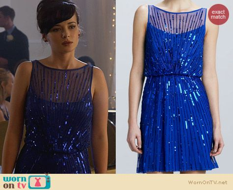 Jenna Hamilton's Blue Prom Dress in 2013