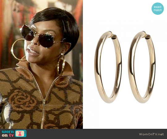 Jennifer Fisher Samira Hoops worn by Taraji P. Henson on Empire