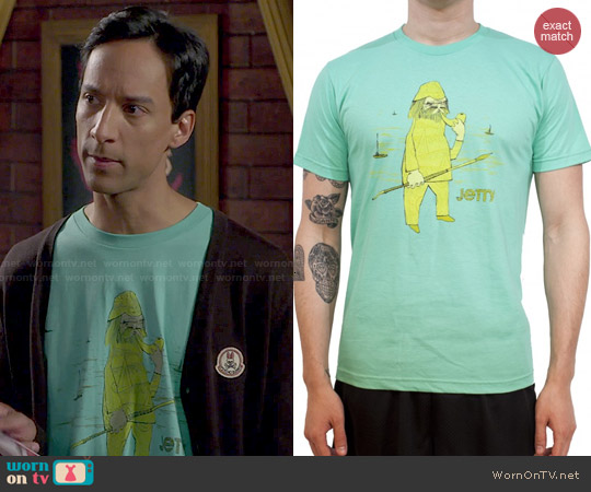 Jetty Salty Dog T-shirt worn by Abed on Community