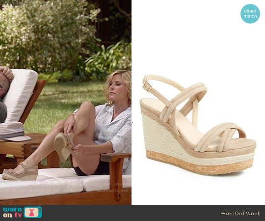 Jimmy Choo Nomad Sandals worn by Claire Dunphy on Modern Family