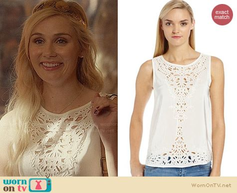 Joie Aleene Top worn by Clare Bowen on Nashville