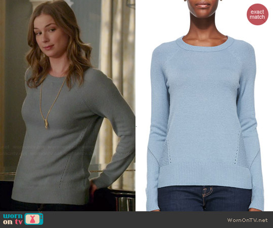 Joie Andina Sweater worn by Emily VanCamp on Revenge