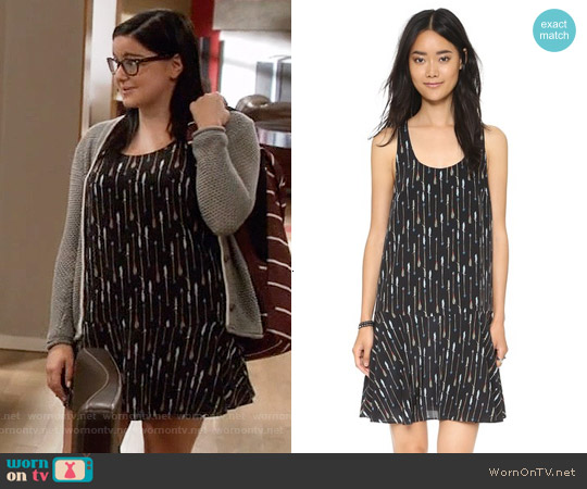 Joie Arianna Dress in Caviar worn by Ariel Winter on Modern Family