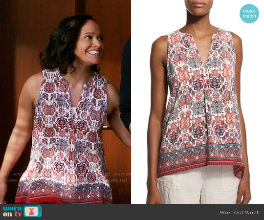 Joie Aruna Folkloric Top worn by Judy Reyes on Devious Maids