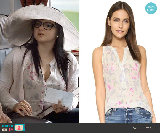 Joie Aruna Tulip Top worn by Ariel Winter on Modern Family