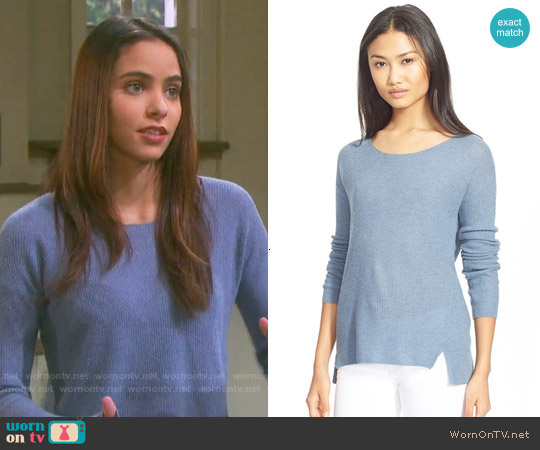 Joie Bernie Sweater worn by Victoria Konefal on Days of our Lives