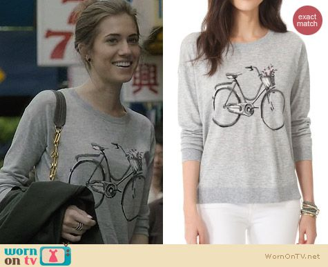 Joie Bicycle Sweater worn by Allison Williams on Girls