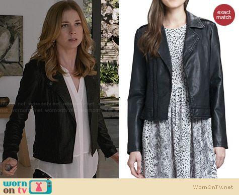 Joie Caldine Jacket worn by Emily Thorne on Revenge
