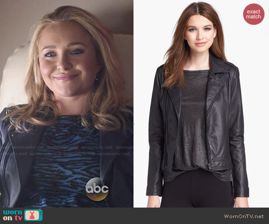 Joie Caldine Leather Jacket worn by Juliette Barnes on Nashville