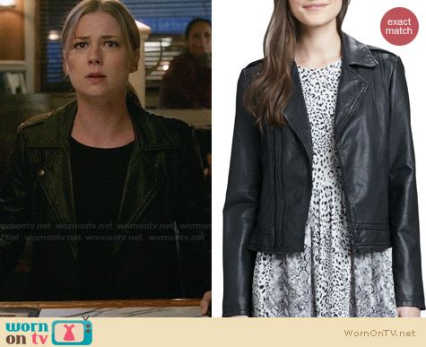 Joie Caldine Jacket worn by Emily Vancamp on Revenge