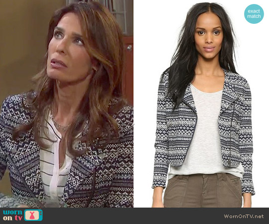 Joie Darnel Jacket worn by Kristian Alfonso on Days of our Lives