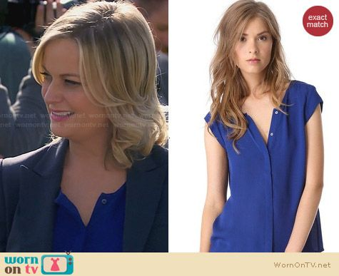 Joie Dimante Top worn by Amy Poehler on Parks & Rec