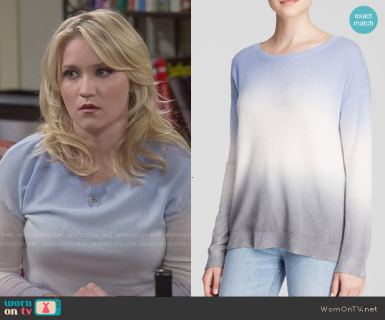 Joie Eloisa Ombre Sweater worn by Emily Osment on Young & Hungry