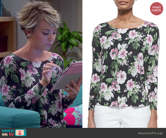 Joie Emele Sweater worn by Kaley Cuoco on The Big Bang Theory