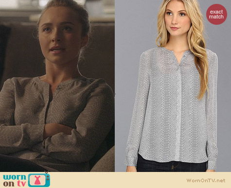 Joie Hanelle Blouse worn by Hayden Panettiere on Nashville