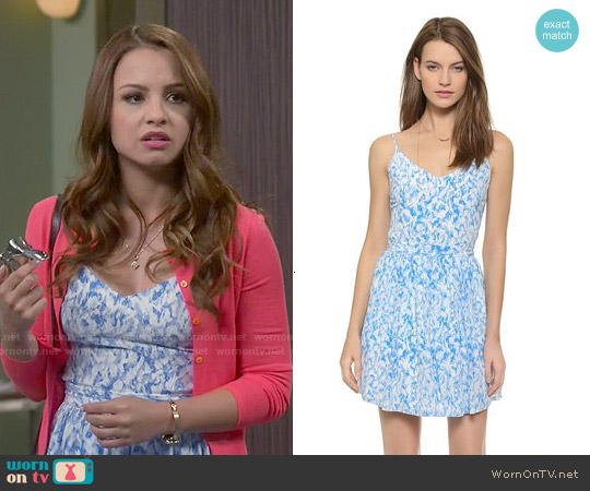 Joie Hudette Dress worn by Aimee Carrero on Young & Hungry