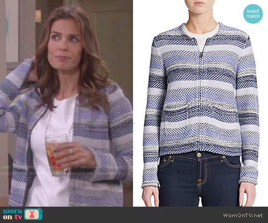 Joie Jacolyn Cotton Jacket worn by Kristian Alfonso on Days of our Lives