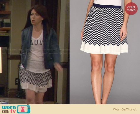Joie Joney Skirt worn by Alyson Hannigan on HIMYM