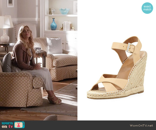 Joie Lena Sandals worn by Sasha Pieterse on PLL