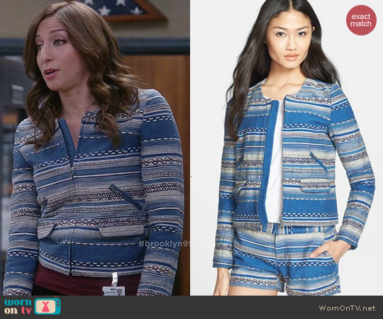 Joie Lindra Jacket worn by Chelsea Peretti on Brooklyn 99