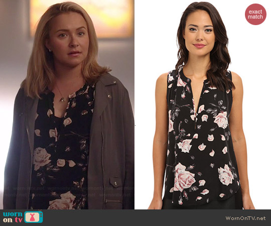 Joie Lirienne Blouse worn by Hayden Panettiere on Nashville